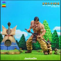【Preorder】JacksDo Studio Dragon Ball Upa&Bora and tent GK resin statue's post card