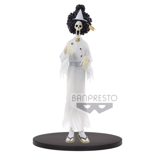 【In Stock】BANPRESTO DXF ONE PIECE Ghost BROOK PVC Statue