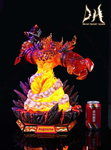 【Preorder】Demon Hunter Studio World of Warcraft Ragnaros the Firelord resin statue's post card