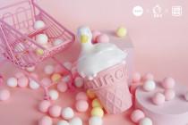 【Preorder】Zzo Studio x Yulu Strawberry duck ice cream cone resin statue's postcard