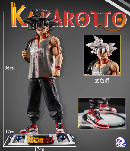 【In Stock】DP9 Studio Dragon Ball Goku colour changed resin statue
