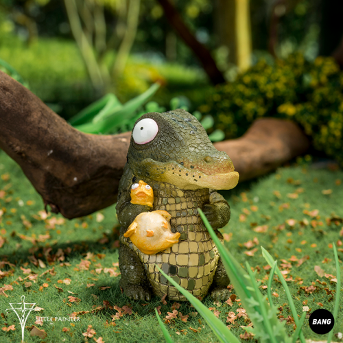【In Stock】Little Painter Dumm Dumm Crocodile & Squirrel furnishing articles