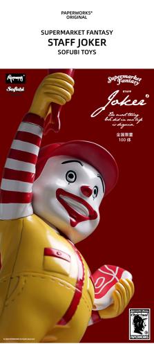 【In Stock】Paperworks Original Supermarket Fantasy Staff Joker Sofubi Toys