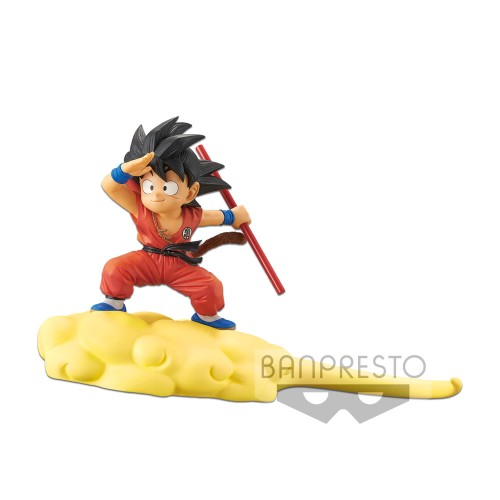 【In Stock】BANPRESTO Dragon Ball Kid Goku Somersault cloud PVC Statue