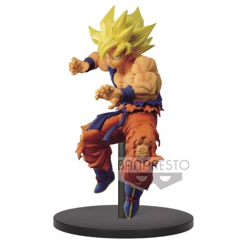 【Preorder】BANPRESTO Dragon Ball FES12 super Saiyan Goku PVC statue's post card