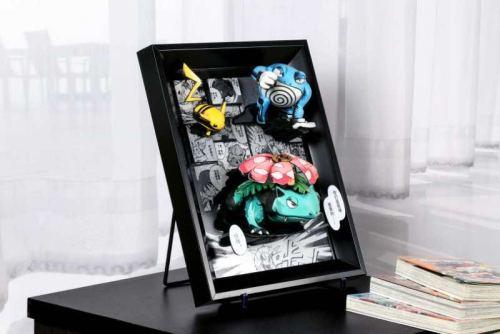 【In Stock】Qiguang Studio Pokemon partner Resin Statue