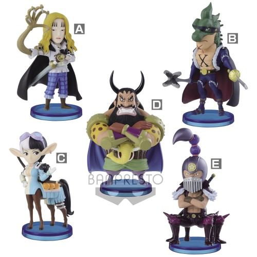 【Preorder】BANPRESTO WCF ONE PIECE Beasts Pirates2 PVC statue's post card