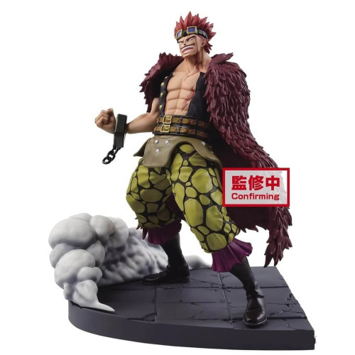 【Preorder】BANPRESTO ONE PIECE Wano country Eustass Kid PVC statue's post card