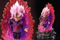 【Preorder】League Studio Dragon Ball Saiyan Rose Goku resin statue's post card