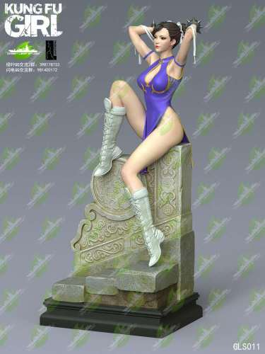 【Preorder】Green Leaf Studio Kung Fu Girl resin statue's post card