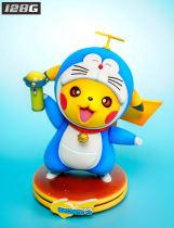 【Preorder】128G studio Pokemon Pikachu cosplay Doraemon resin statue's post card