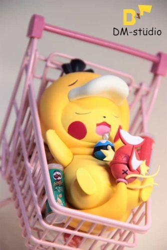 【In Stock】DM Studio Pokemon Pikachu cosplay Psyduck resin statue