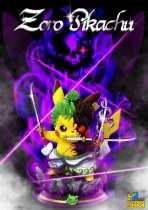 【In Stock】Hp Studio Pokemon Pikachu cosplay Zoro resin statue