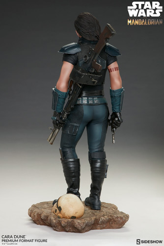 【Preorder】Sideshow Star Wars Mandalorian Cara Dune statue's post card