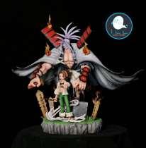【Preorder】ILL Studio Shaman King Yoh Asakura&AMIDAMARU resin statue's postcard