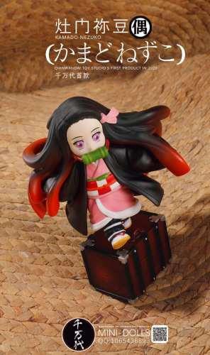 【Preorder】Q.W.D Studio Demon Slayer Kamado Nezuko resin statue's post card