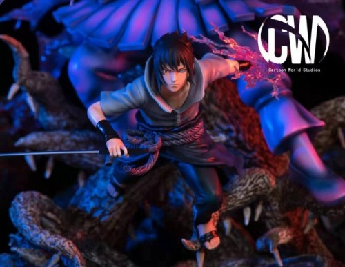 【In Stock】CW Studio NARUTO Sasuke resin statue