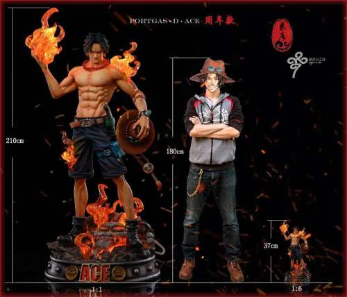 【In Stock】LC Studio ONE PIECE Ace resin statue