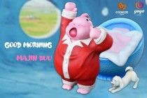 【In Stock】YOYO x Cookie Studio Dragon Ball Good Morning Buu Resin Statue