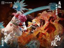 【Preorder】SHIFANG Studio Demon Slayer Rengoku Kyoujurou VS Akaza resin statue's post card