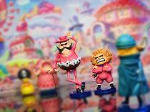 【In Stock】A+ Studio One Piece Whole Cake Island resonance Baron Tamago&Pekoms Resin Statue