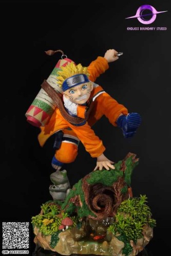 【In Stock】EB Studio NARUTO I am Uzumaki Naruto Resin Statue