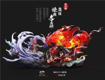 【Preorder】NIREN Studio Demon Slayer Rengoku Kyoujurou vs Akaza resin statue's post card