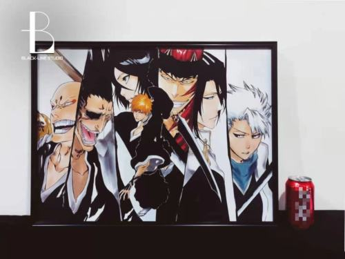 【Preorder】Ans&Black Line Studio BLEACH Painting resin statue's post card
