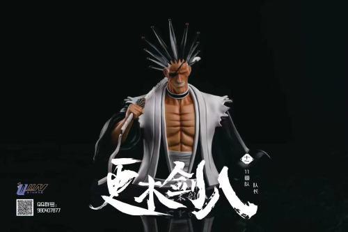 【Preorder】Wiin Studio BLEACH Zaraki Kenpachi Bust resin statue's post card