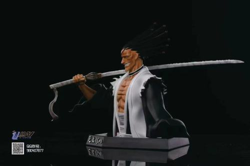 【Preorder】Wiin Studio BLEACH Zaraki Kenpachi Bust resin statue's post card