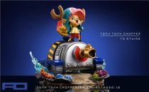【Preorder】FO studio ONE PIECE Chopper resin statue's post card
