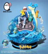 【Preorder】EGG Studio Pokemon Ash Ketchum resin statue's post card