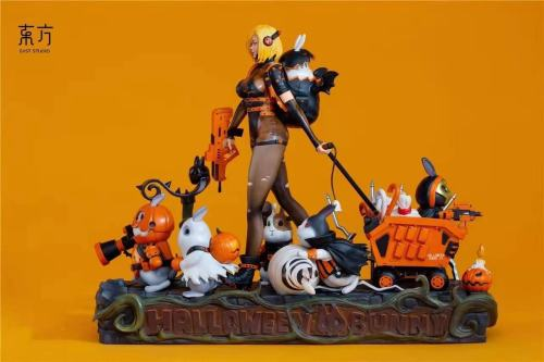 【Preorder】East Studio Halloween Bunny resin statue's post card