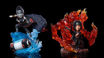 【Preorder】ST Studio NARUTO Itachi&Kisame resin statue's post card
