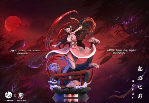 【In Stock】LEO OF SKY Studio&TianTong Studio Demon Slayer Kamado Nezuko resin statue