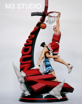 【Preorder】M3 Studio SlamDunk Sakuragi Hanamichi last-gasp goal resin statue's post card