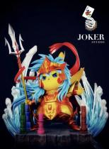 【Preorder】Joker Studio Pikachu cosplay Saint Seiya Poseidon resin statue's post card