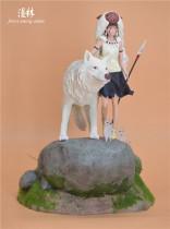 【Preorder】Forest among anime Studio Princess Mononoke resin statue's postcard