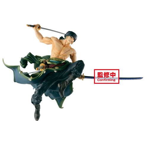 【Preorder】Banpresto One Piece BWFC Roronoa Zoro Paramount War PVC Statue's post card