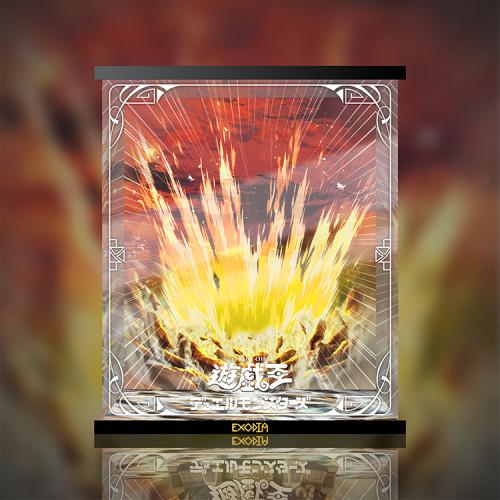 【In Stock】Jiang Stidio Yu-Gi-Oh! Atem Exodia resonance LED Acrylic Display Box