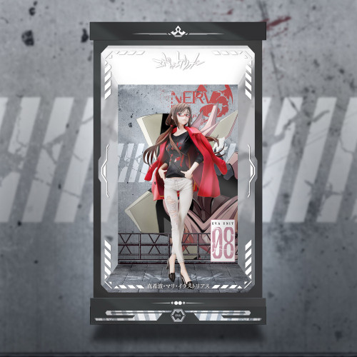 【Preorder】Hobbymax Japan EVA Mari Makinami Illustrious LED Acrylic Display Box's post card