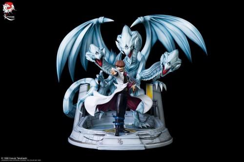 【Preorder】Kitsune Statue Yu-Gi-Oh! Seto Kaiba with Blue-Eyes White Dragon copyright resin statue's post card