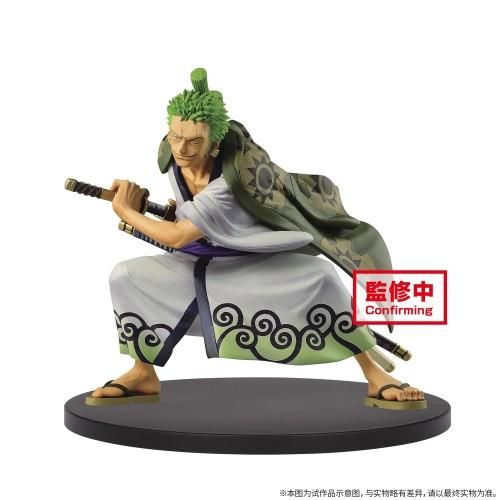 【In Stock】Banpresto KOA One Piece Wano Country Kimono Zoro PVC Statue