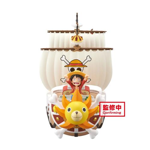 【Preorder】Banpresto One Piece MEGA WCF Thousand Sunny PVC Statue's postcard