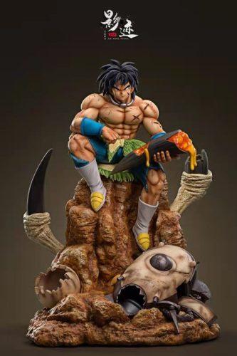 【In Stock】DIM Model Studio Dragon Ball Sitting Broli Resin Statue