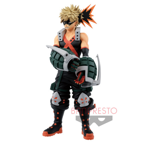 【In Stock】BANPRESTO My Hero Academia Age of Heros Bakugou Katsuki PVC statue
