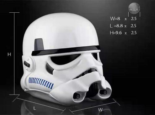 【In Stock】PinJiang Studio Star Wars Imperial Stormtrooper Helmet Piggy Bank Resin Statue