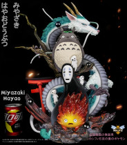 【Preorder】WASP Studio GQJ Series Meet Miyazaki Hayao resin statue's post card