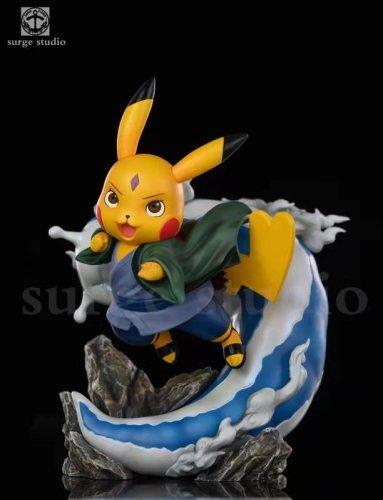 【Preorder】Surge Studio Pokemon Pikachu cosplay Naruto Tsunade Resin Statue's post card