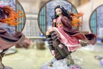 【In Stock】UP Art Studio & MINI Studio Demon Slayer Nezuko resin statue